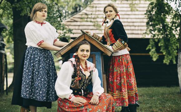 Plener w Nadwiślańskim Parku Etnograficznym w Wygiełzowie